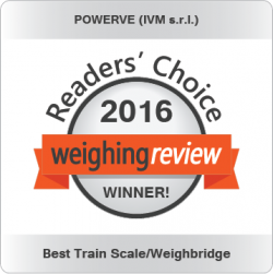 Best Train Scale Weighbridge Weighing Review Awards 2016