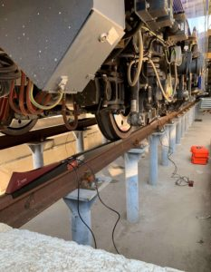 POWERVE during EAV derailment tests