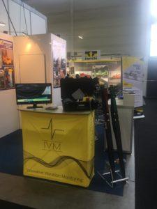 Il nostro stand ad IAF - si può vedere POWERVE nella foto.