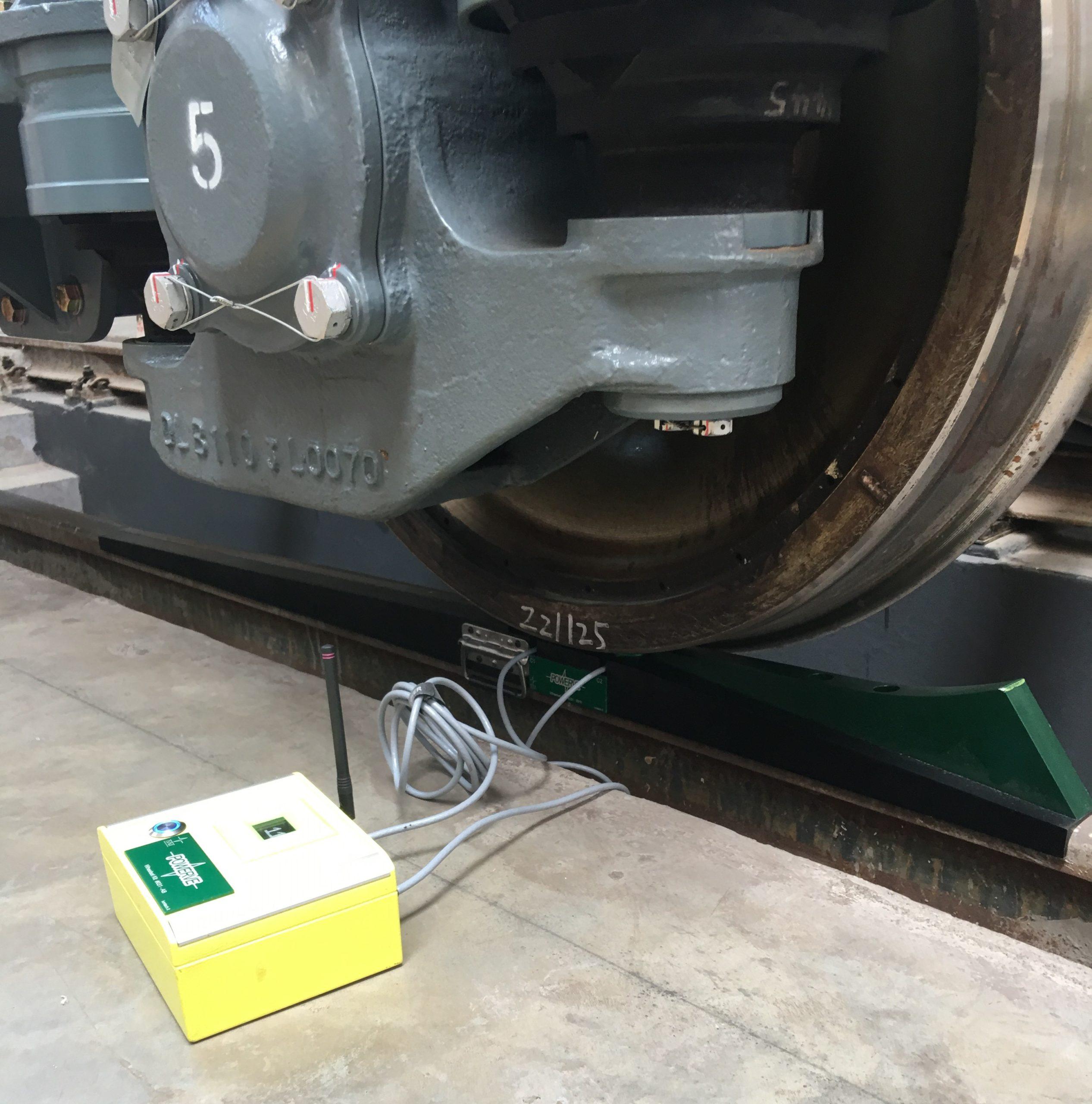 Rolling stock Weigher - wheel