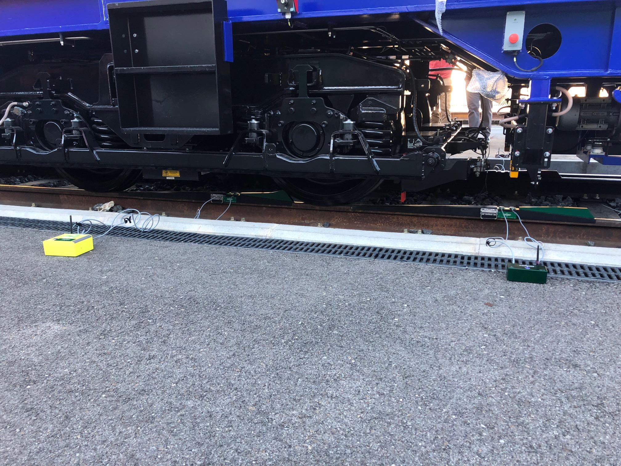 báscula portátil para trenes POWERVE
