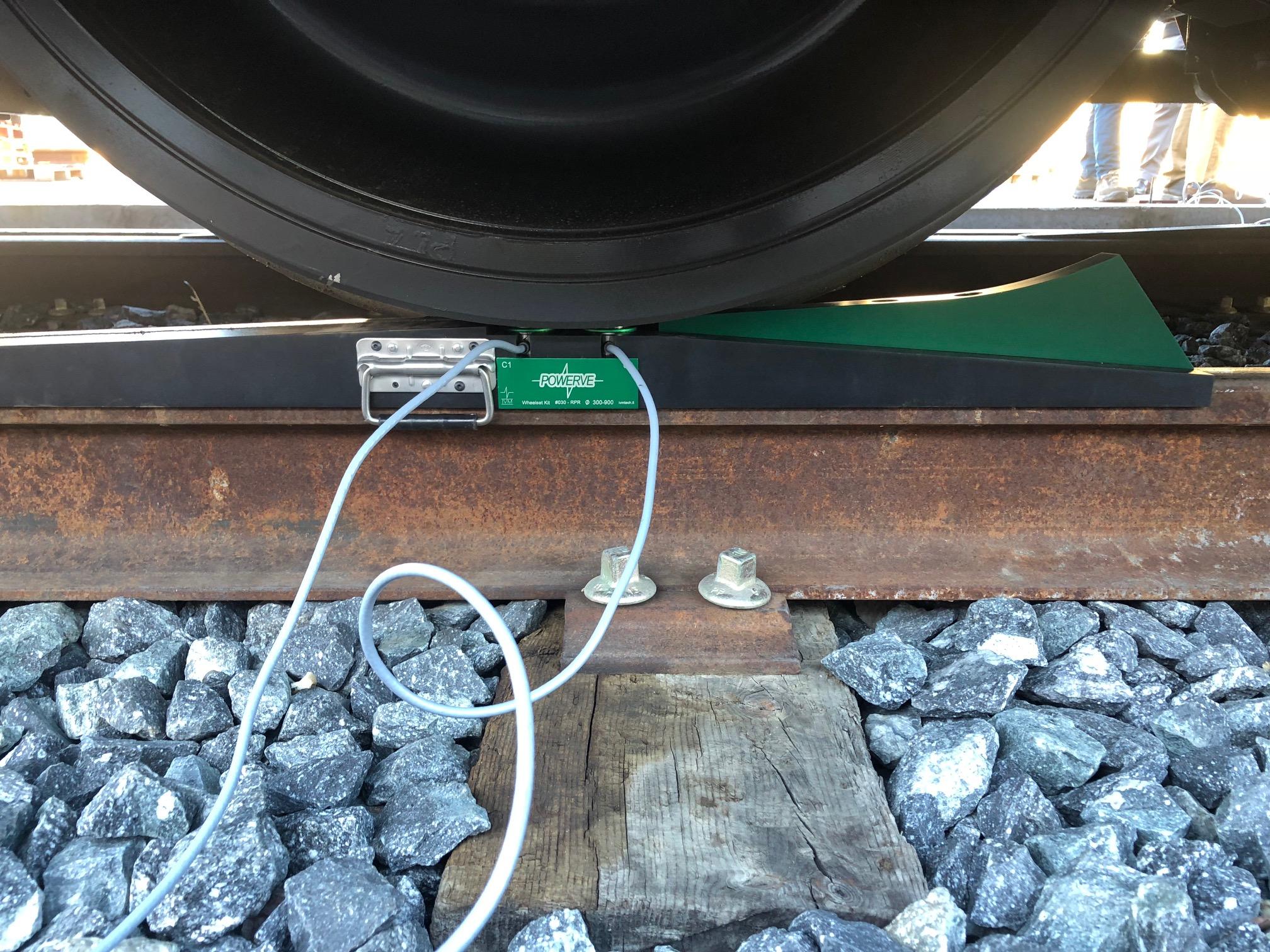 Equilibrar material rodante con POWERVE