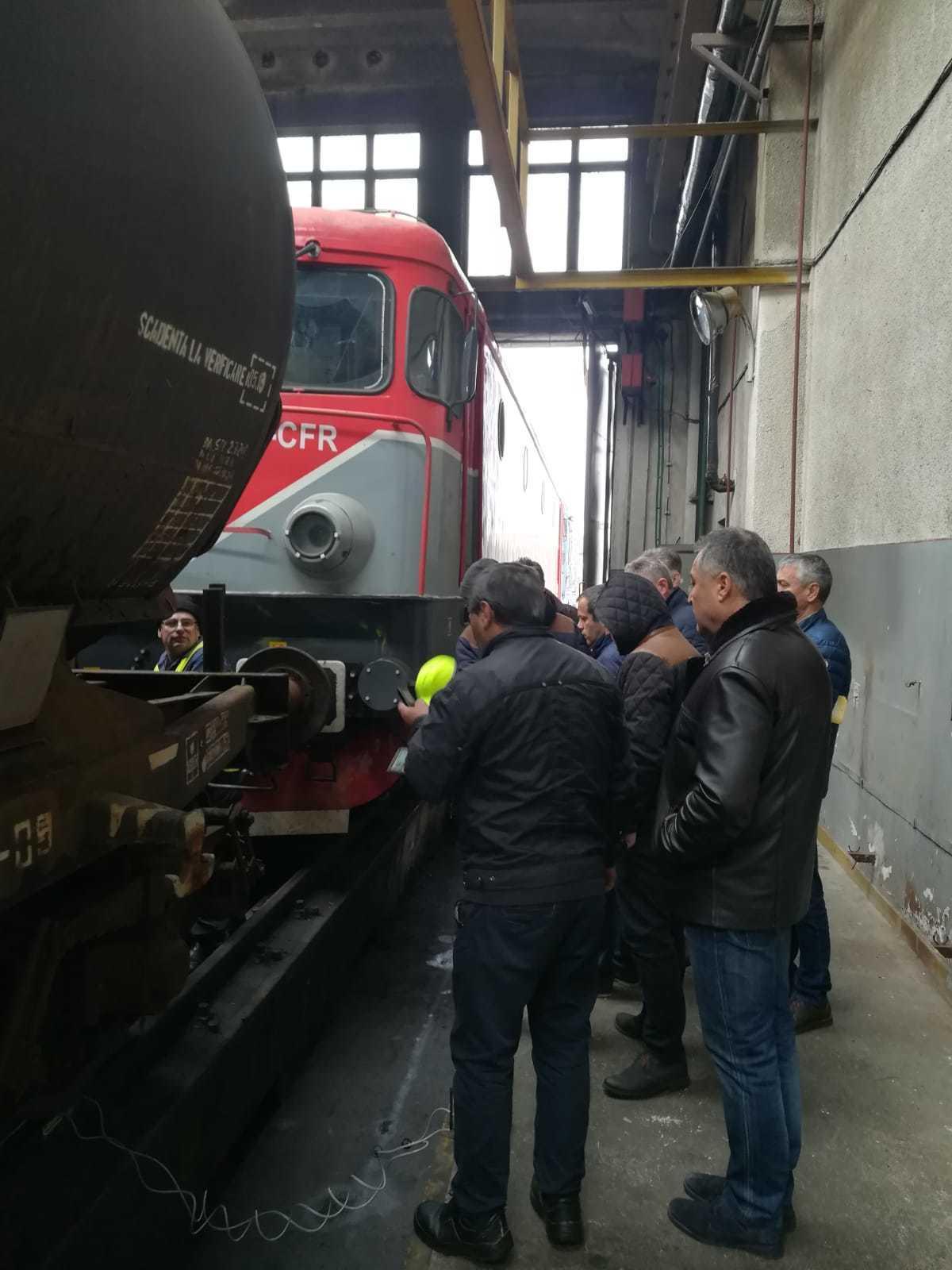 railway companies staff
