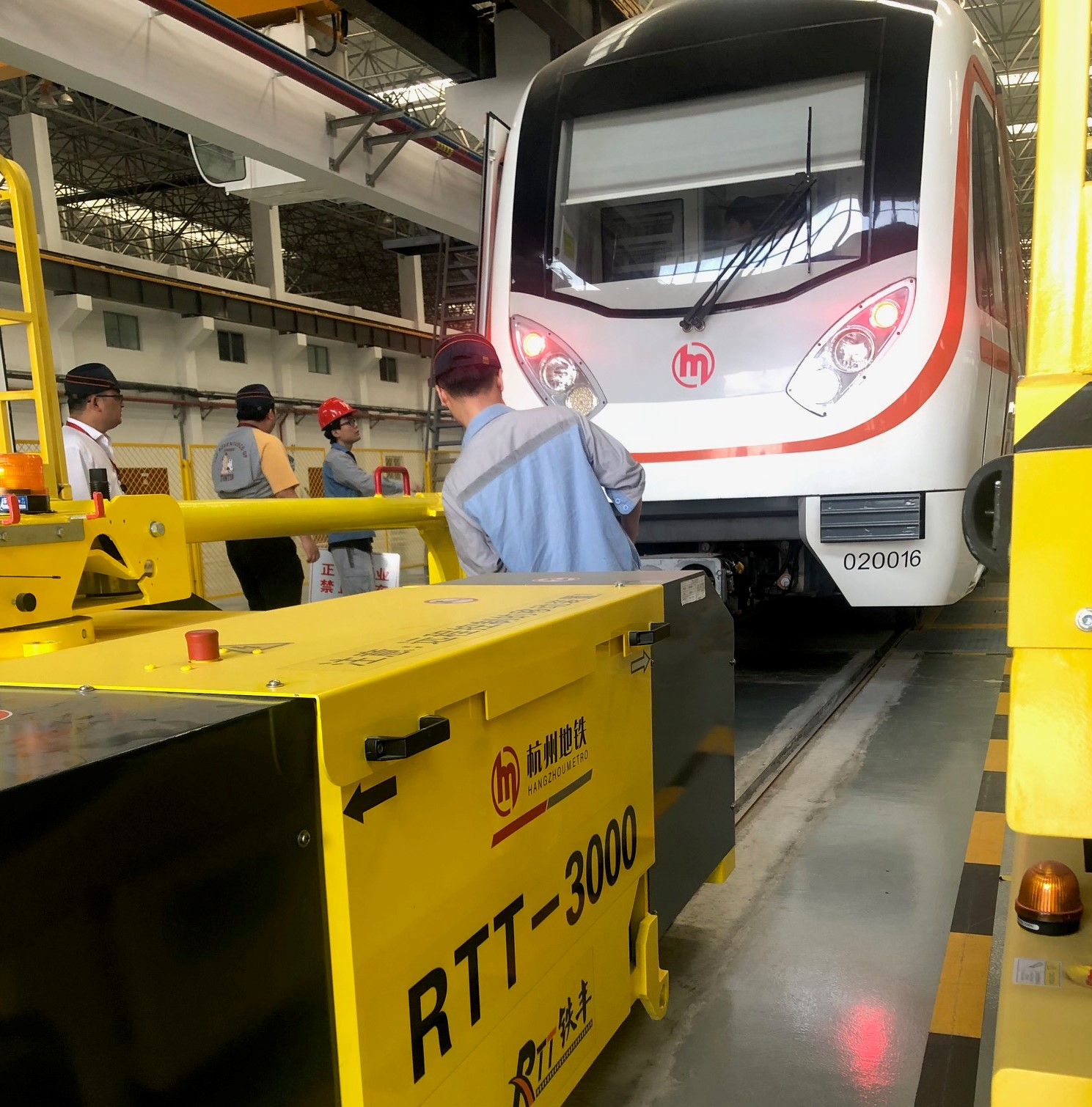 Metro Hangzhou Rolling stock for POWERVE