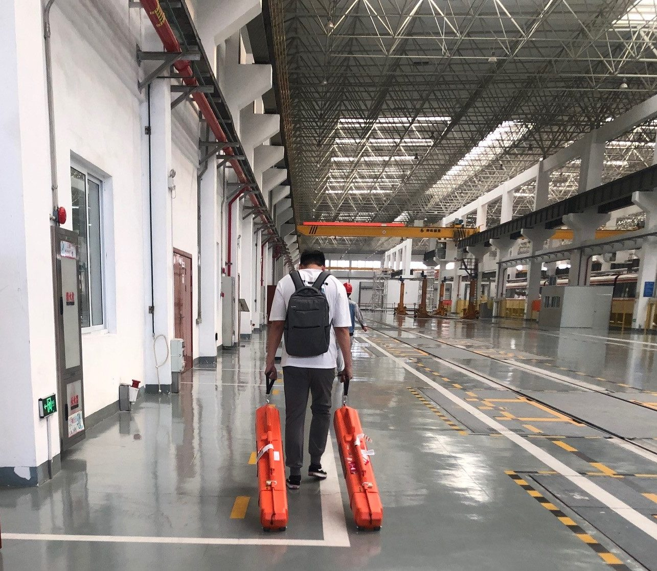 Mr Diao and POWERVE - Rolling stock weight measurement