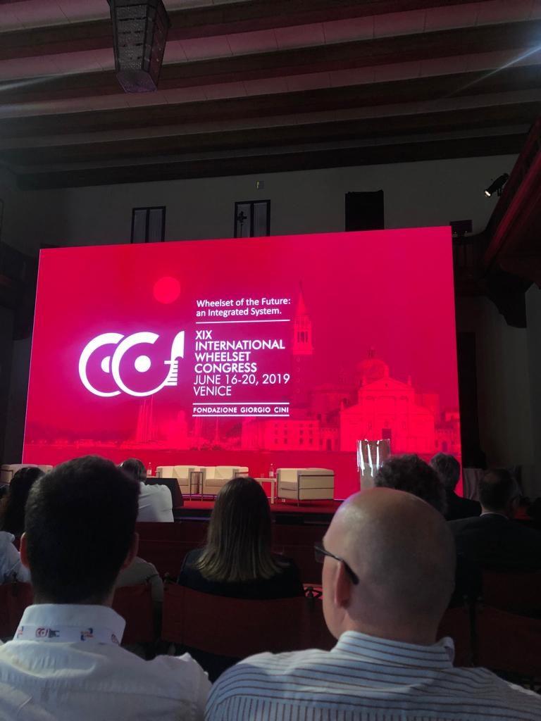 Wheelset Congress 2019 – Venezia – Sala presentazioni
