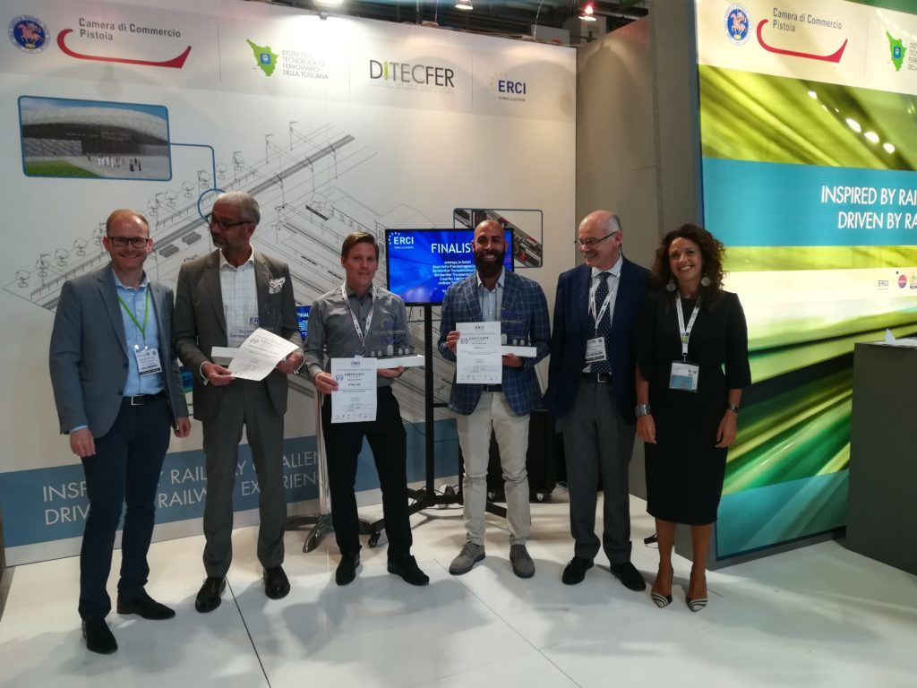 Winners of Erci Innovation Award 2019