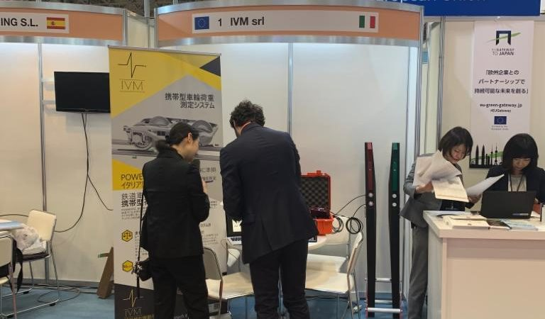 IVM stand in Mass Trans 2019